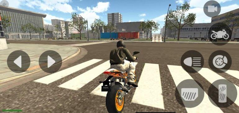登山暴力摩托车